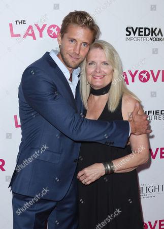Matt Barr and mother