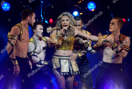 Editorial image of 'The Bodyguard' media call at The Regent Theatre, Melbourne, Australia - 24 Aug 2017