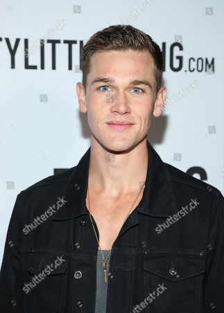 Taylor John Smith attends Tings Magazine Launch Party, in Los Angeles