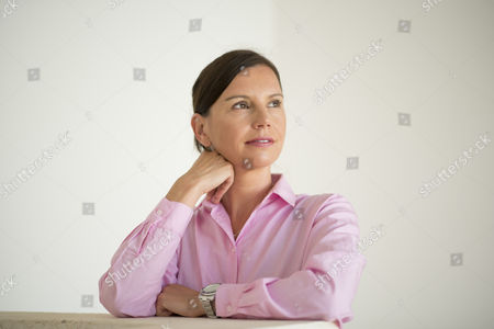 Stock Photo of Teresa Enke the widow of Robert Enke, the german goal keeper who took his own life a few years ago.