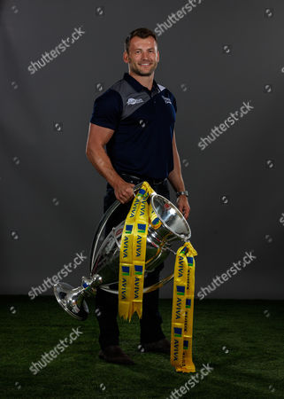 Mark Cueto of Sale Sharkes poses for a portrait during the Aviva Premiership Rugby 2017-2018 Season Launch at Twickenham Stadium on August 24, 2017 in London, England. (Photo by Phil Mingo/PPAUK for Aviva)