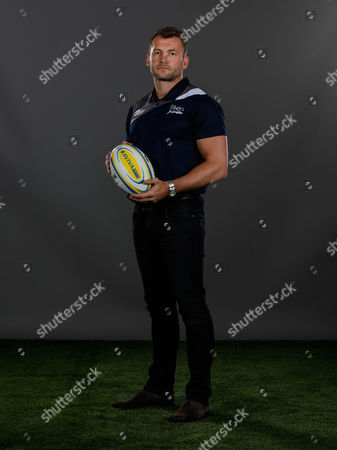 Stock Image of Mark Cueto of Sale Sharkes poses for a portrait during the Aviva Premiership Rugby 2017-2018 Season Launch at Twickenham Stadium on August 24, 2017 in London, England. (Photo by Phil Mingo/PPAUK for Aviva)
