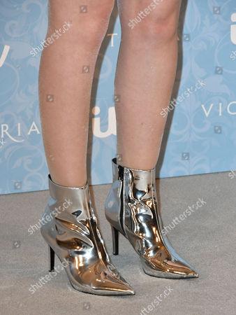 Tilly Steele, shoe detail