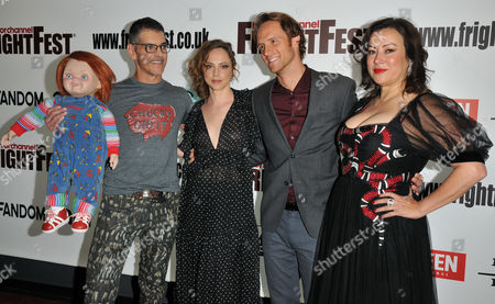 Chucky, Don Mancini, Fiona Dourif, Adam Hurtig and Jennifer Tilly