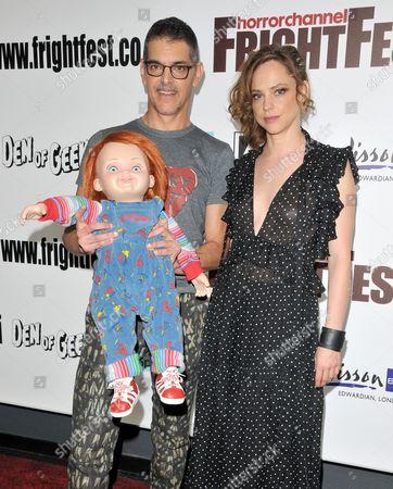 Chucky, Don Mancini and Fiona Dourif