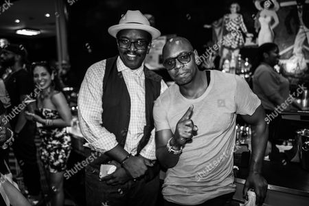 Fab Five Freddy and Dave Chappelle