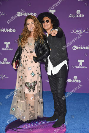 Editorial image of Premios Tu Mundo, Arrivals, American Airlines Arena, Miami, USA - 24 Aug 2017