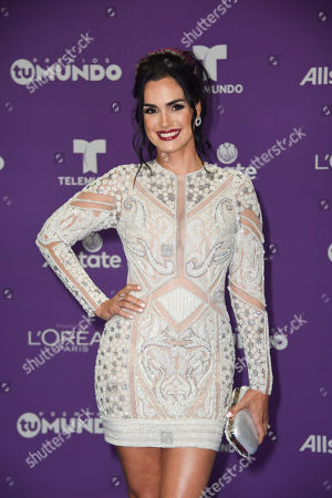 Editorial image of Premios Tu Mundo, Arrivals, American Airlines Arena, Miami, USA - 24 Aug 2017