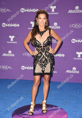 Editorial photo of Premios Tu Mundo, Arrivals, American Airlines Arena, Miami, USA - 24 Aug 2017