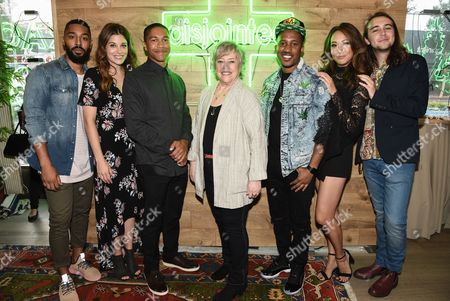 Actor Tone Bell, actress Elizabeth Alderfer, actor Aaron Moten, actress Kathy Bates, actor Chris Redd, actress Elizabeth Ho, actor Dougie Baldwin