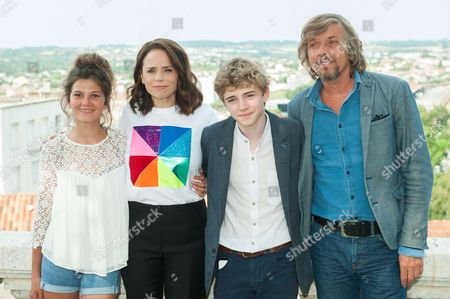 Editorial picture of 'Le rire de ma mere' photocall, Francophone Film Festival, Angouleme, France - 24 Aug 2017