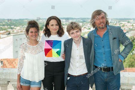 Editorial photo of 'Le rire de ma mere' photocall, Francophone Film Festival, Angouleme, France - 24 Aug 2017
