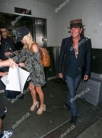 Richie Sambora and Orianthi Panagaris