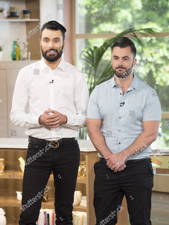 Rylan Clark and his husband Dan Neal