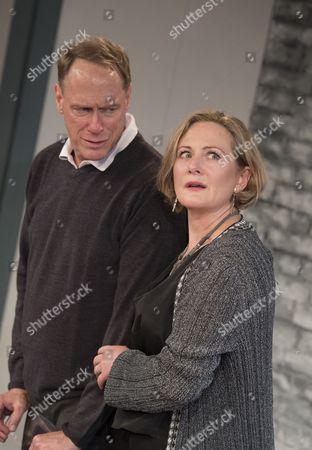 Todd Boyce as Michael, Lucy Robinson as Debora