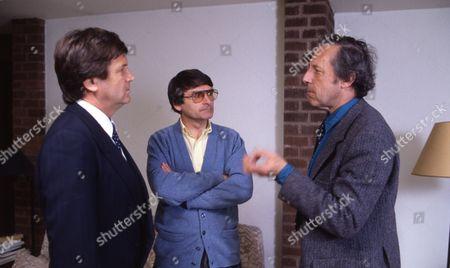 Melvyn Bragg, David Lodge and Malcolm Bradbury