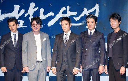 Go Soo, Kim Yoon-seok, Byung-hun Lee, Park Hee-soon and Jo Woo-jin