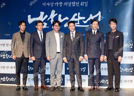 Park Hae-il, Go Soo, Kim Yoon-seok, Byung-hun Lee, Park Hee-soon and Jo Woo-jin
