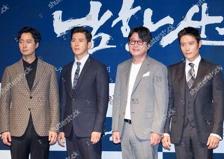 Park Hae-il, Go Soo, Kim Yoon-seok and Byung-hun Lee