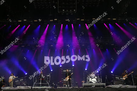 Blossoms - Josh Dewhurst, Myles Kellock, Tom Ogden, Joe Donovan and Charlie Salt