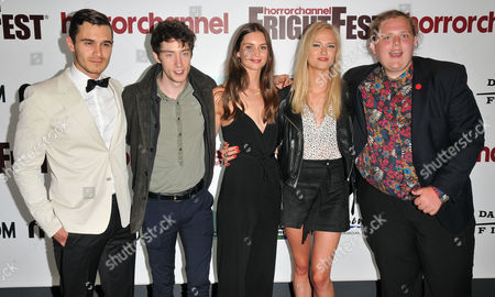 Editorial photo of 'Leatherface' film premiere, Horror Channel FrightFest, London, UK - 25 Aug 2017