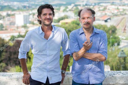 Stock Photo of Olivier Ayache Vidal, Denis Podalydes