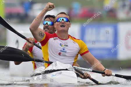 Stock Image of Marcus Walz Cooper and Rodrigo Germade