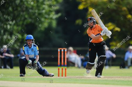 Arran Brindle of Southern Vipers batting during the Women's Cricket Super League match between Southern Vipers and Yorkshire Diamonds at Arundel Castle, Arundel