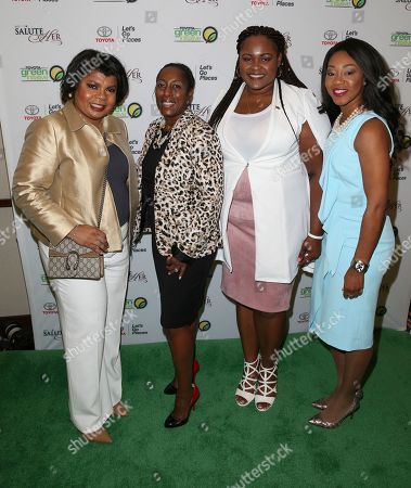 April D . Ryan, Adrienne Taylor, Racheida Lewis, Jessica Taylor April D. Ryan left, Adrienne Trimble General Manager, Diversity & Inclusion at Toyota Motor North America, Racheida Lewis and Jessica Taylor Toyota Motor North America attend the Salute Her: Beauty of Diversity Awards luncheon presented by Toyota & AARP hosted by WHUR and Cafe Mocha Radio at the Marriott Marquis Washington, in Washington