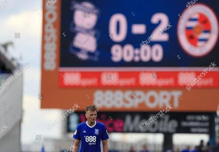 Stephen Gleeson of Birmingham City looks dejected