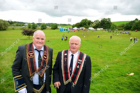 Editorial picture of Aughnacloy Royal Black District Chapter No.3 Royal Black demonstration, Aughnacloy, Northern Ireland, UK - 26 Aug 2017