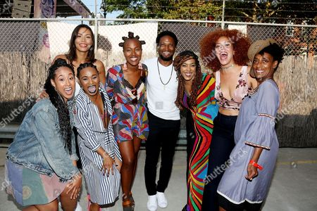 "Editorial picture of Netflix Original Series ""She's Gotta Have It"" cast at Spike Lee's Michael Jackson Block Party Celebration in Brooklyn, New York, USA - 26 Aug 2017"