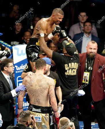 Editorial photo of Nathan Cleverly vs Jack Badou, Las Vegas, USA - 26 Aug 2017