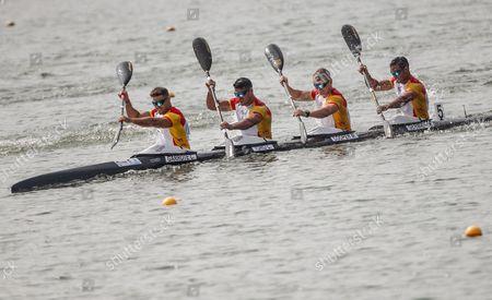 Editorial image of ICF Canoe Sprint World Championships, Racice, Czech Republic - 27 Aug 2017