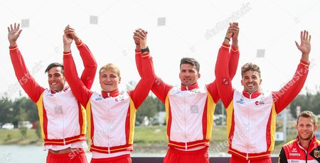 Editorial picture of ICF Canoe Sprint World Championships, Racice, Czech Republic - 27 Aug 2017