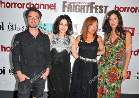 Nicky Evans, Sally Dexter, Joanne Mitchell and Thaila Zucchi