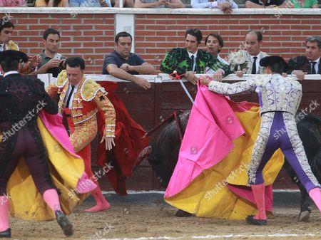 Bullfighter Jose Ortega Cano.