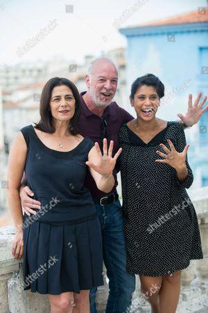 Stock Image of Hiam Abbass, Philippe Van Leeuw, Juliette Navis