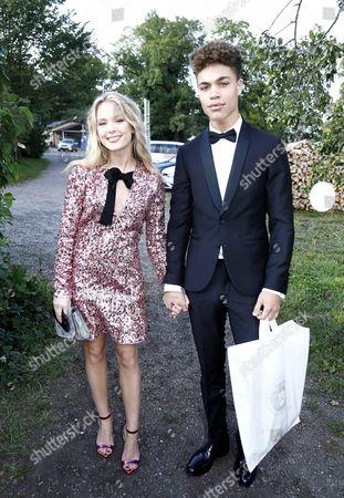 Zara Larsson and boyfriend Brian Whittaker