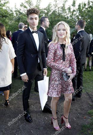 Brian Whittaker and girlfriend Zara Larsson