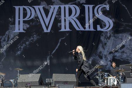 PVRIS - Lynn Gunn (aka Lyndsey Gunnulfsen and Lynn Gvnn) and Justin Nace