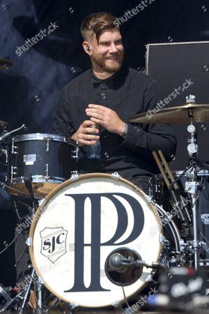 Stock Image of PVRIS - Justin Nace