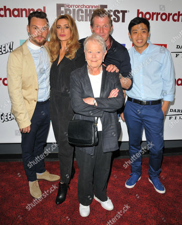 Johnny Palmiero, Eve Myles, Annette Crosbie, Jason Flemyng and Lukaz Leong