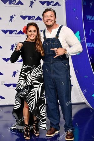 Ilima-Lei Macfarlane and Matt Mitrione