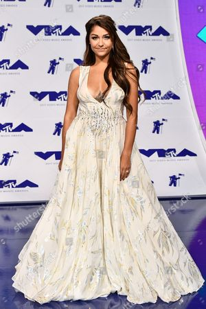 Editorial picture of MTV Video Music Awards, Arrivals, Los Angeles, USA - 27 Aug 2017