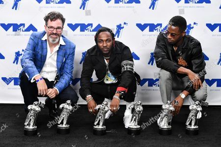 Dave Meyers, Kendrick Lamar and Dave Free