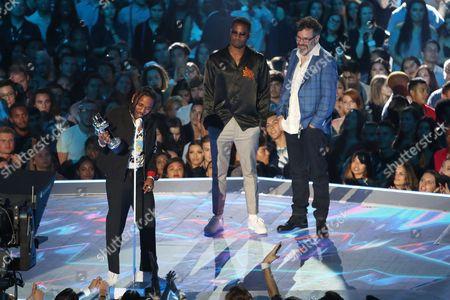 Kendrick Lamar, Dave Free and Dave Meyers