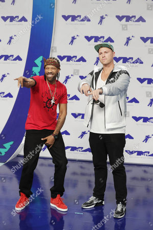 Stock Photo of Redman and DJ Jayceeoh