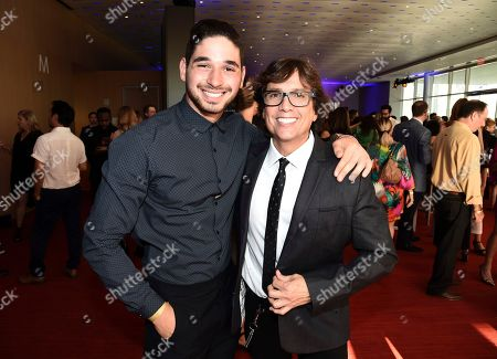 Alan Bersten, Fred Tallaksen Alan Bersten, left, and Fred Tallaksen attend the Choreography Nominee Reception at the Television Academy's Saban Media Center, in the NoHo Arts District in Los Angeles