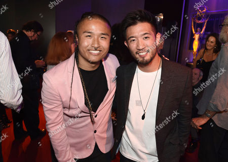 Stock Photo of Hokuto Konishi, Steve Terada Hokuto Konishi, left, and Steve Terada attend the Choreography Nominee Reception at the Television Academy's Saban Media Center, in the NoHo Arts District in Los Angeles